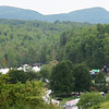 Merlefest 2012 - View from the hill above the festival