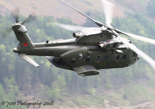 ZJ990/'AA' (28 SQN marks) Merlin HC.3A - 9th May 2008.