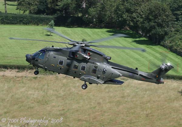 ZJ995/'AD' (78 SQN marks) Merlin HC.3A - 14th August 2008.