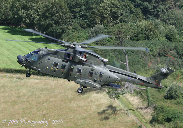ZJ995/'AD' (78 SQN marks) Merlin HC.3A - 14th August 2008.