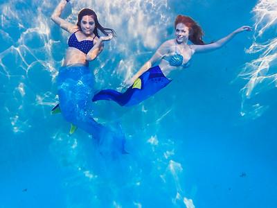Mermaid Ginger and Anika the Mermaid | Lenkaland Photography