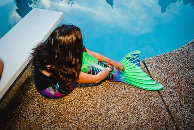 Zombie Mermaid | Lenkaland Photography