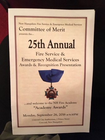 25th Annual Fire Service & Emergency Medical Services Awards & Recognition 2016