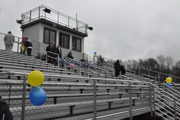 AIC Game - Senior Day, fans, post-game