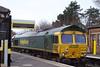 66618 <br /> <br /> Location: Hillside sitting in the Liverpool bound platform <br /> <br /> Date: 29th March 2006
