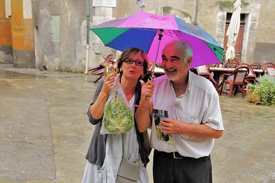 Entrevaux - Alpes-de-Haute-Provence - Les faux amoureux - France
