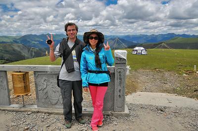 Col Kazila (4.718 m) - Sichuan - Chine