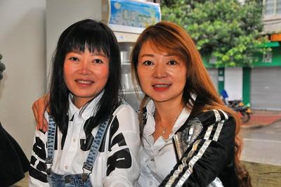 Pingbian - Deux amies Yi - Yunnan - Chine