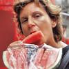 Pastèque du marché de la Boqueria - Barcelone - Espagne