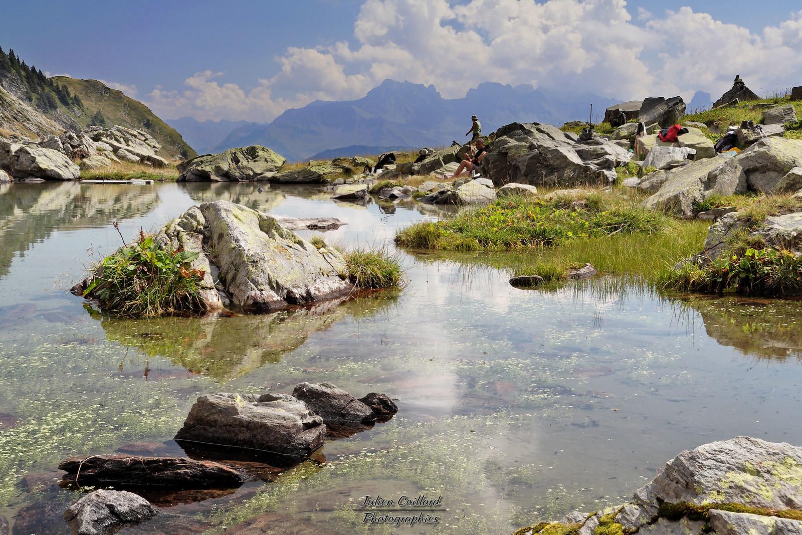 01-09-2005 Beaufortain Lac du Chalet du Lac (montée au Pas de l'Ane)