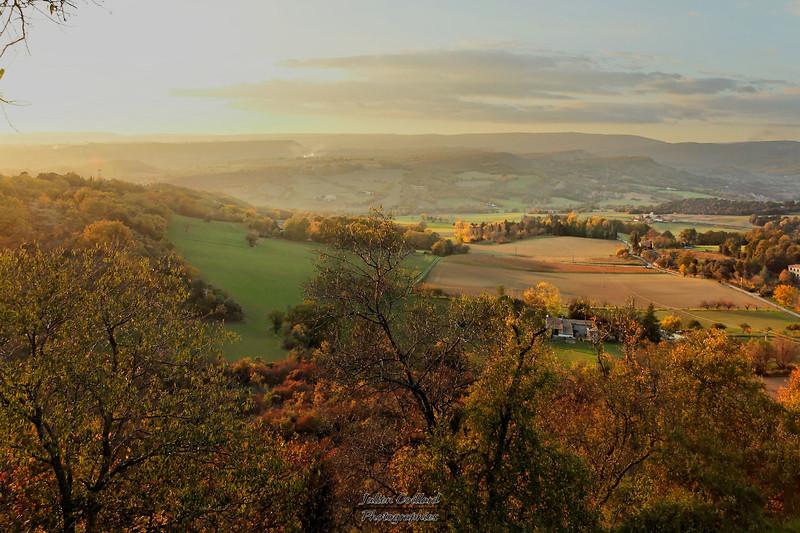 20-11-2005 Alpes de Hte Provence Plateaux de Vaucluse depuis Lurs