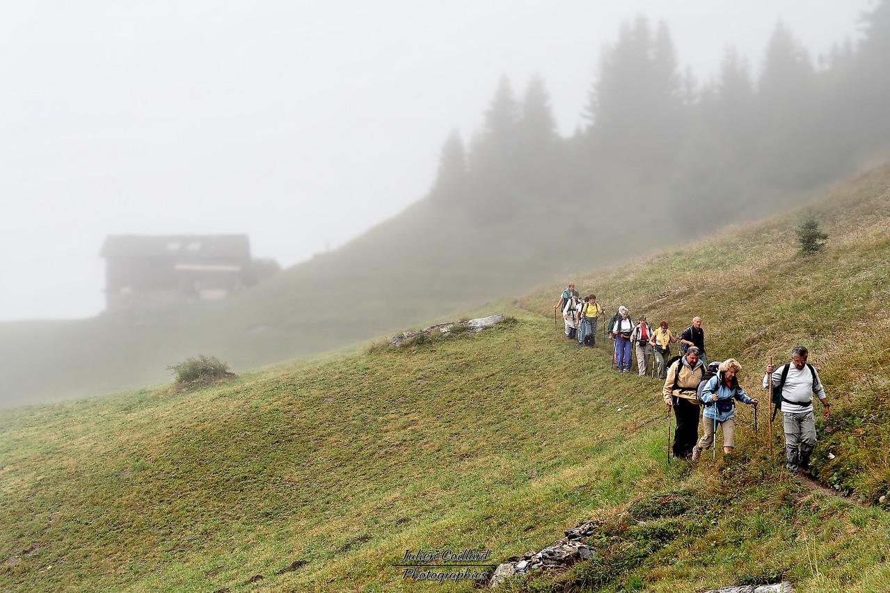 28-08-2005 Beaufortain - Col du Pré Journée de brume, près du Bouchet (en dessous de Roche Parstire)
