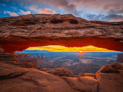 Mesa Arch Sunrise: The Tao of Photography: Utah Fine Art Landscape Nature Photography Canyonlands National Park