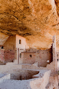 This cliff dwelling can only be visited by climbing a ladder comprised of poles and ropes, and is not for the feint of heart.  The reward is standing on the edge looking out to  the valley.