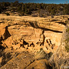 recent reconstruction project, Mesa Verde