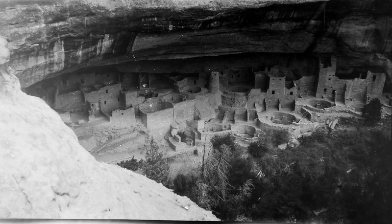 View of cliff palace from above. Photo might be reversed. Haven't been there yet but plan to go soon.