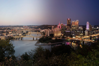 """Pittsburgh, PA (from the Timescapes series)"" by Brittany Pennell"