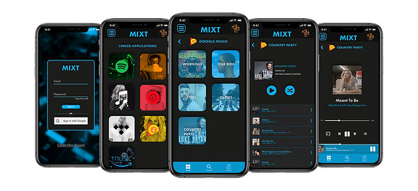 """MIXT Music App"" by Austin Snider"