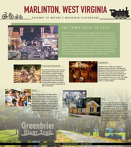 """Marlinton, WV Kiosk Posters"" by Autumn Morgan"