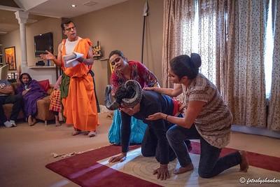 Mesh O Rakkhosh Costume Rehearsal