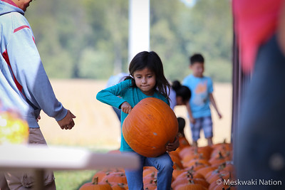 Meskwaki Child Care Pumpkin Patch