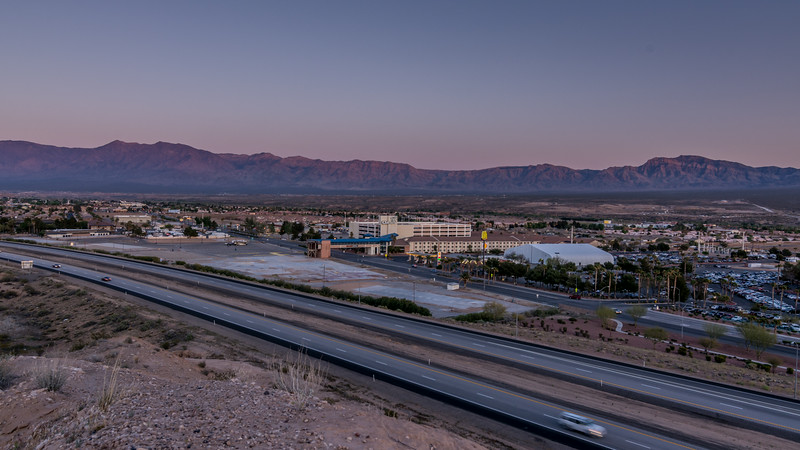 Mesquite, Nevada - Day to Night