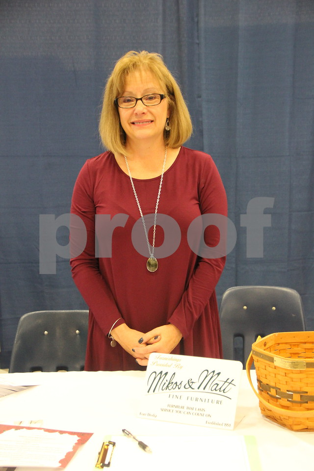 Sunday, October 16, 2016 Iowa Central Community College was the sight of the 2016 Messenger Bridal Show. The event took place in the Career Education Building on their Fort Dodge campus. One of the many vendors at the event is Corinne Mikos pictured here.