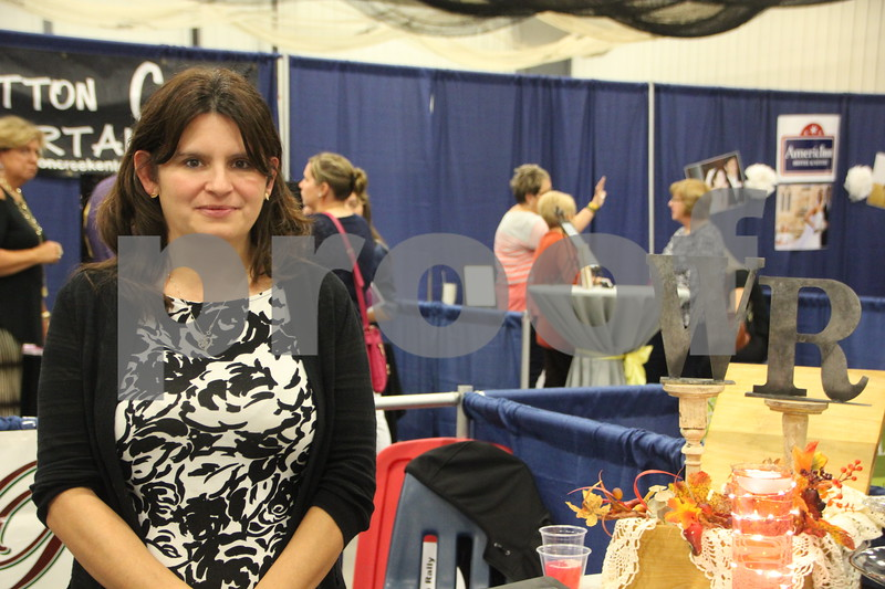 Sunday, October 16, 2016 Iowa Central Community College was the sight of the 2016 Messenger Bridal Show. The event took place in the Career Education Building on their Fort Dodge campus. Pictured is: Jodi Vannoni, a vendor at the event.