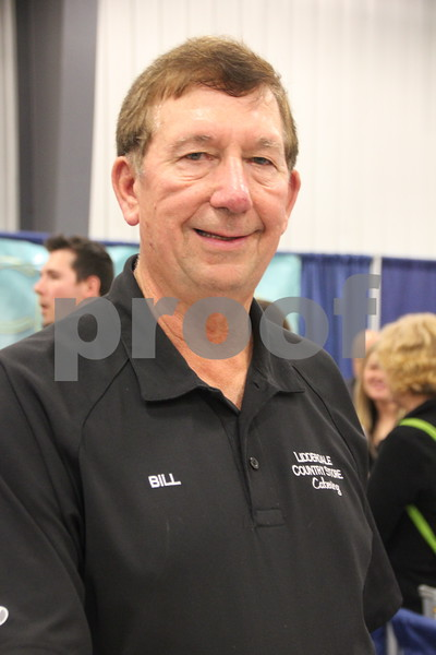 Sunday, October 16, 2016 Iowa Central Community College was the sight of the 2016 Messenger Bridal Show. The event took place in the Career Education Building on their Fort Dodge campus. Shown here is: Bill Stork, a vendor at the event.