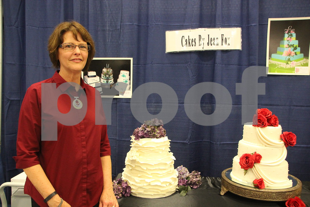 Sunday, October 16, 2016 Iowa Central Community College was the sight of the 2016 Messenger Bridal Show. The event took place in the Career Education Building on their Fort Dodge campus. Seen is: Jean Fox, another  one of several vendors at the event.