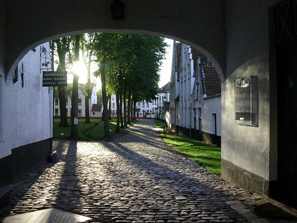 Begijnhof fra inngangsportal (Foto: Ståle)