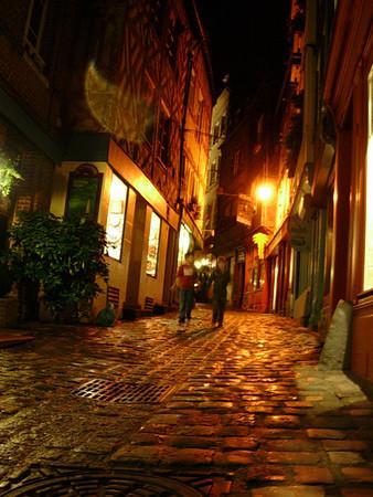 Kveldsstemning i rue de l'Homme de Bois (Foto: Ståle)