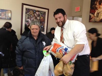 Passover Food Distribution with Bensonhurst COJO