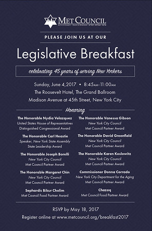 Legislative Breakfast 2017