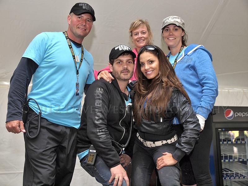 Trish Stratus and Team Stratusphere at Met Con Blue 2012   005