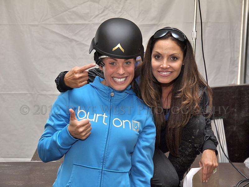 Trish Stratus and Team Stratusphere at Met Con Blue 2012   032