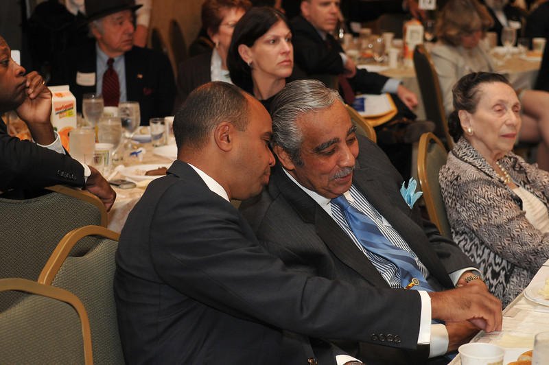 Adolfo Carrion and Rep. Charles Rangel