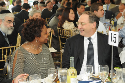 Yvette Clark and Honoree Bruce Ratner