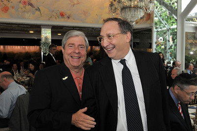 Brooklyn Borough President Marty Markowitz and Honoree Bruce Ratner