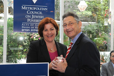 Speaker Christine Quinn and Speaker Sheldon Silver
