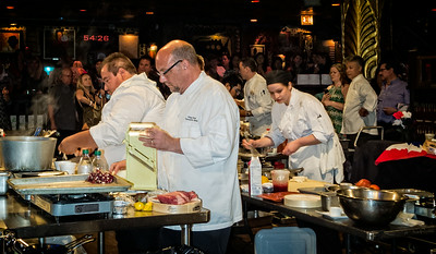 Executive Chef Greg Carso Metropolitan Club Chicago Crew Metal Chef Competition House of Blues Chicago