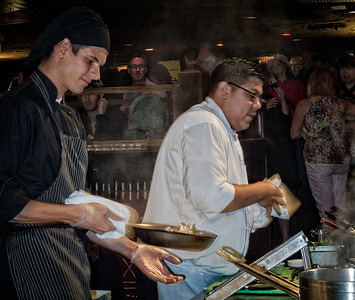 Executive Chef Michael Pivoney's Crew Mid America Club Chicago Metal Chef Competition House of Blues Chicago