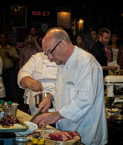 Executive Chef Greg Carso Metropolitan Club Chicago Metal Chef Competition House of Blues Chicago
