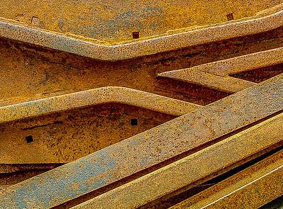 Rail Road Cross Tracks