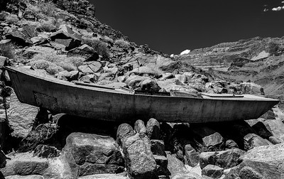 Ross Wheeler Metal Rowboat,  Grand Canyon National Park