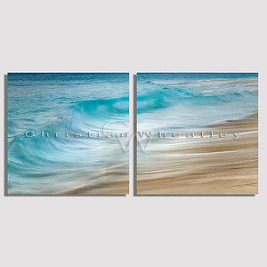 E024 shorebreak diptych