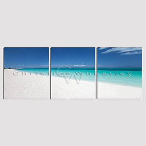 Anegada, British Virgin Islands triptych