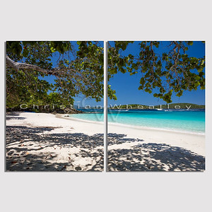 Turtle Bay, St. John, US Virgin Islands diptych