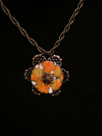 Enameled necklace (variation 1)