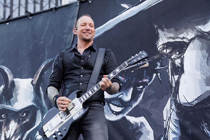 . Volbeat  live at Comerica Park in Detroit, Michigan on 7-12-2017., Ken Settle, Photo Credit: Ken Settle